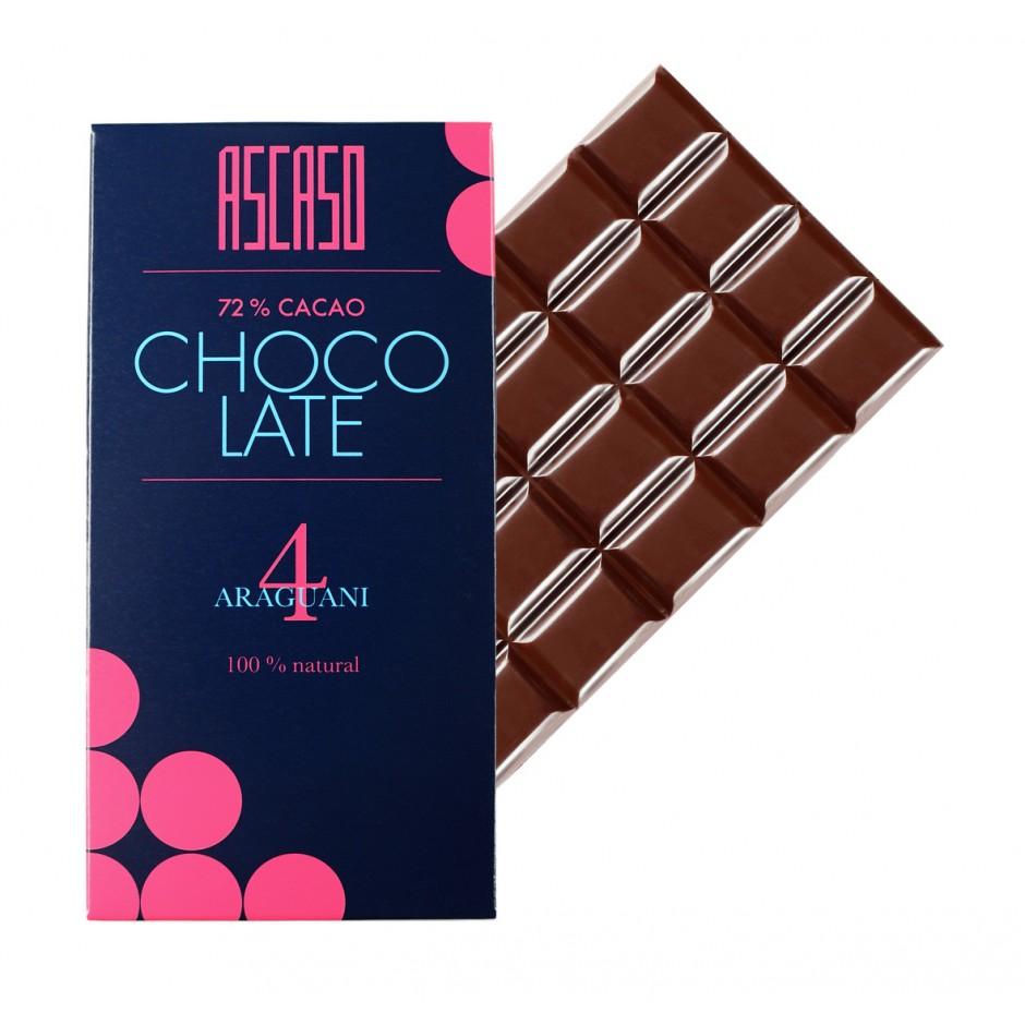Chocolate 72% ARAGUANI Nº 4